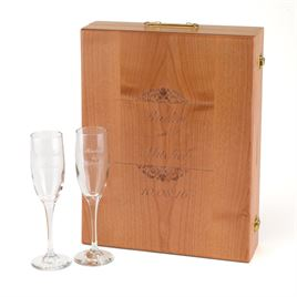 Wooden Wine Ceremony Set