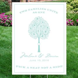 Tree of Love Yard Sign