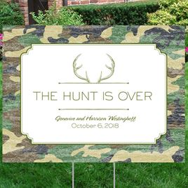 Hunters Choice - Pine - Yard Sign