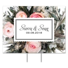 Wedding Personalized Yard Signs: 