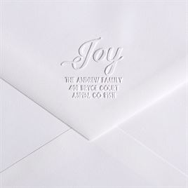 Wedding Envelope Seals: JOY Custom Embosser