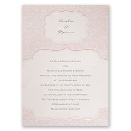 Vintage Wedding Invitations: 