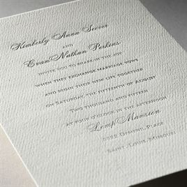 Truly Inspired - Ecru - Featherpress Invitation