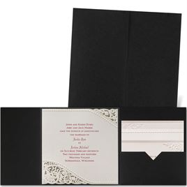 Laser Cut Wedding Invitations: 