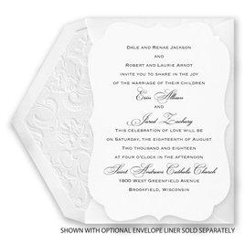 Vintage Crest - Invitation
