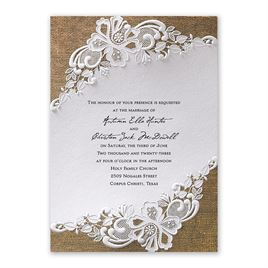 Lacy Dream - Vertical - Invitation