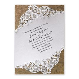 Lacy Dream - Slant - Invitation