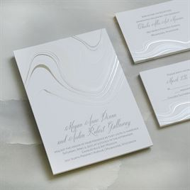 Geode and Foil - Invitation
