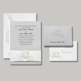 Disney - Fairy Tale Carriage Invitation