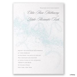 Disney - Icy Swirls Invitation - Elsa