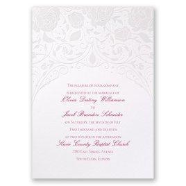 Disney - Dreamy Roses Invitation - Aurora