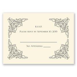 Vintage Vision - Ecru - Response Card