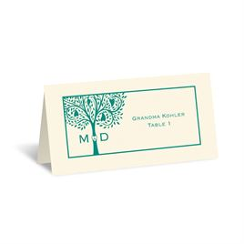 Tree of Love - Ecru - Escort Card
