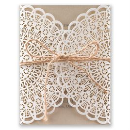 Kraft Wedding Invitations: 