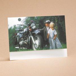 Riding High On Love - Reception Card