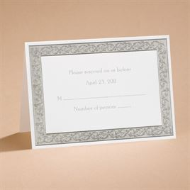 All That Shimmers - Response Card and Envelope