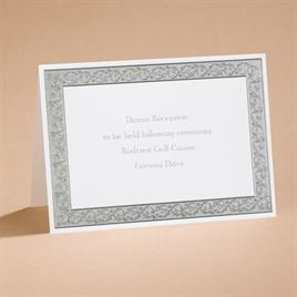 All That Shimmers - Reception Card