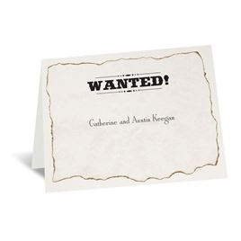 Wanted! - Note Card and Envelope