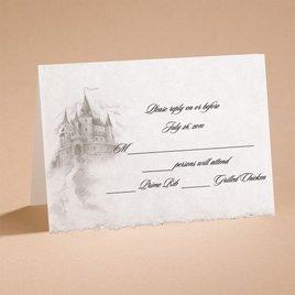 Dreams Do Come True - Respond Card and Envelope