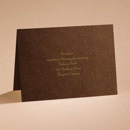 Stunning - Reception Card