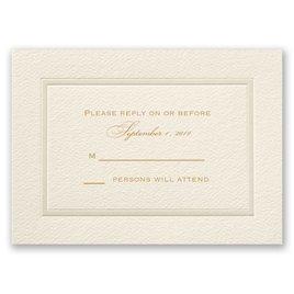 Pearl Frame - Response Card