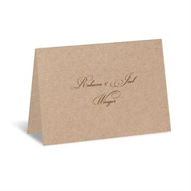 Kraft - Note Card and Envelope
