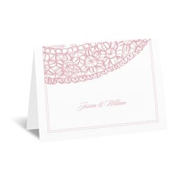 Lacy Accent - Note Card and Envelope