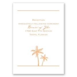 Dream Destination - Reception Card