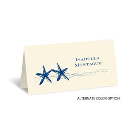 Sweet Starfish - Ecru - Place Card