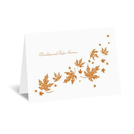 Graceful Leaves - Note Card and Envelope