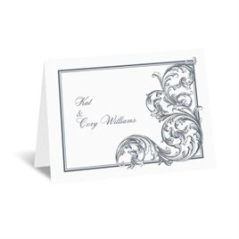 Fine Filigree - Note Card and Envelope