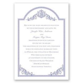 Vintage Victorian - Invitation