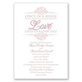 Fairy Tale Love - Invitation