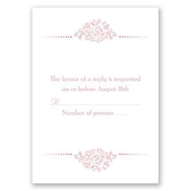 Fairy Tale Love - Response Card and Envelope