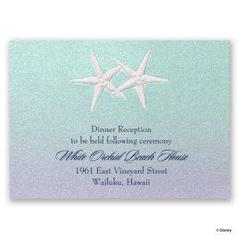 Disney - Mermaid Treasures Reception Card - Ariel