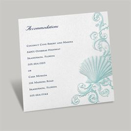 Disney - Beneath the Waves Accommodations Card - Ariel