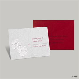 Disney - Blossoms Response Card - Snow White