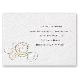 Disney - Fairy Tale Carriage Reception Card