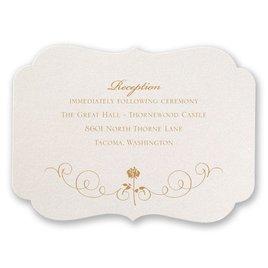 Disney - Luxurious Rose Reception Card