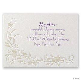 Disney - Flowing Vines Reception Card
