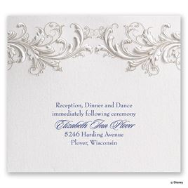 Disney - Golden Fairy Tale Reception Card