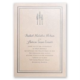 Choose Your Design - Blush Shimmer - Foil Invitation