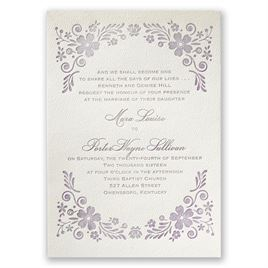 Outdoor Wedding Invitations: 