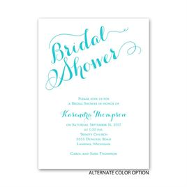Just Lovely - Petite Bridal Shower Invitation