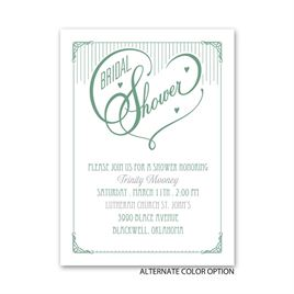 Show of Love - Petite Bridal Shower Invitation