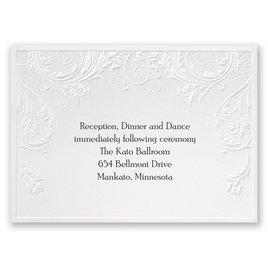 Shaded Grey - Reception Card