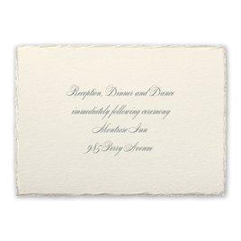 Pearl Trim - Reception Card