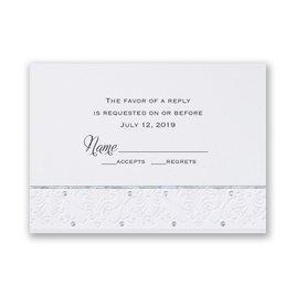 Wedding Response Cards: Forever Radiant Response Card