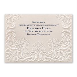 Simply Radiant - Reception Card