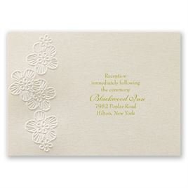 Abundant Beauty - Reception Card